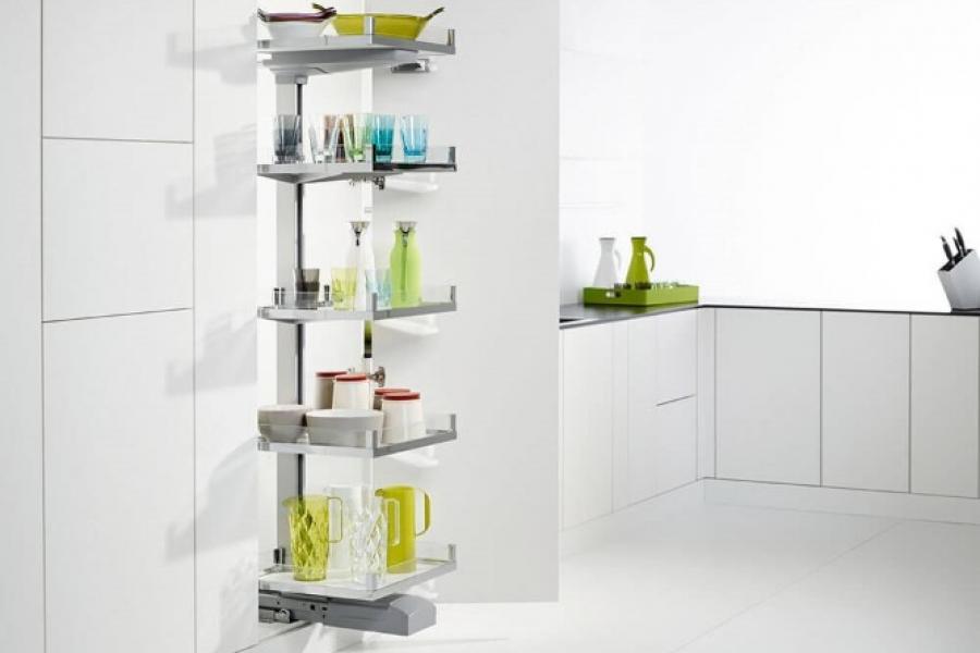 les colonnes dans votre cuisine avec
