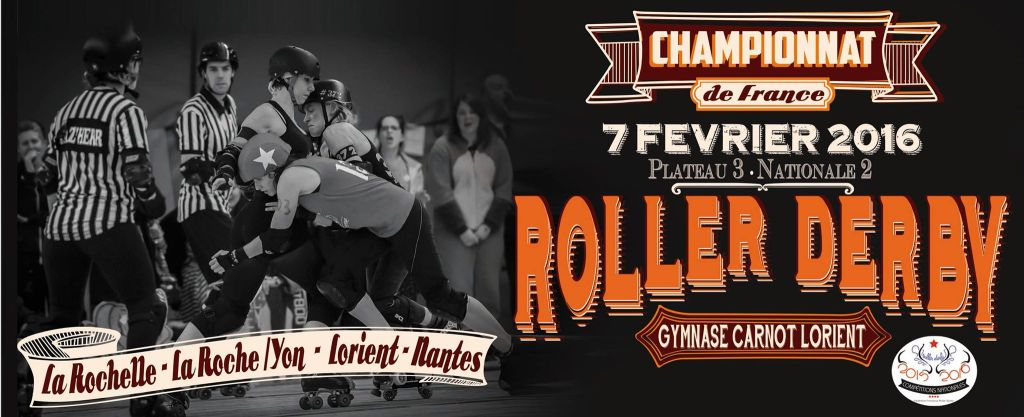 Championnat roller derby FFRS - Nationale 2 Lorient