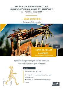 thumbnail of La Ronde – Meme si dehors – 20 juillet