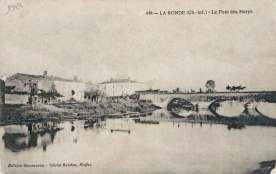le pont de la Croix des Marys au début du XXème siècle