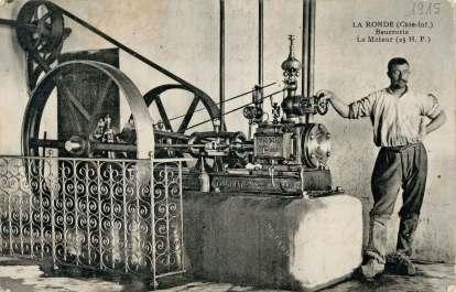 La-Ronde-beurrerie-moteur-carte-postale-1915