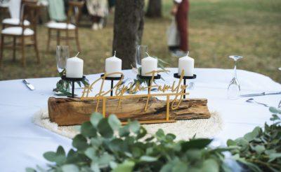 E&M table des mariés