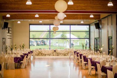 Mariage A&A salle décoration
