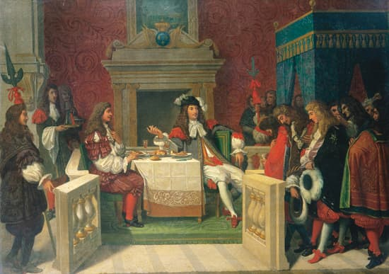 Ingres, Louis XIV et Molière déjeunant à Versailles