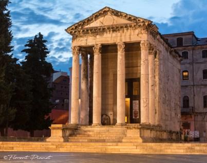 Temple d'Auguste (2) - Pula 1er siècle après J.C