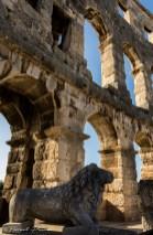 Amphithéâtre romain de Pula (3). 1er siècle après J.C