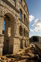 Amphithéâtre romain de Pula (2). 1er siècle après J.C