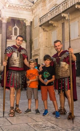 Raph et Antoine... et les Romains!