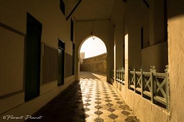 Passage ombragé - Asilah