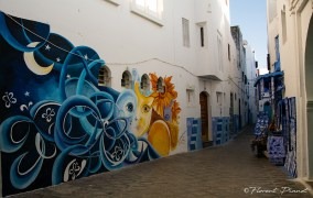 Fresque murale Asilah