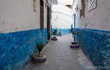 Ruelle dans la Médina de Casablanca