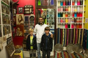 Rencontre avec un herboriste dans le souk - Marrakech