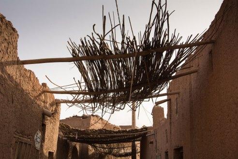 kasbah en pisé - Tamegroute
