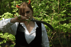 how to larp weapons
