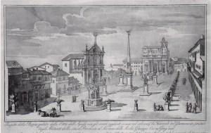 Piazza Maggiore - Stampa d'epoca