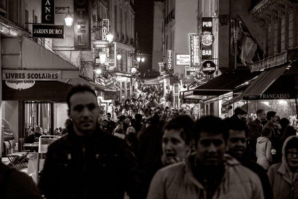 POTD: Saint Séverin Saturday Night