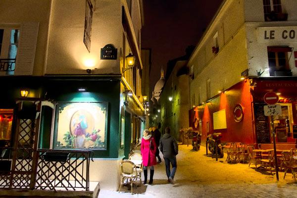POTD:  Sacré Coeur From Rue Saint Rustique