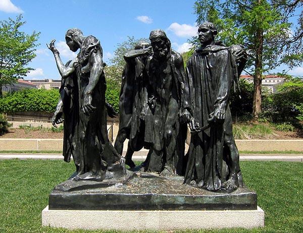 The_Burghers_of_Calais_-_Hirshhorn_Sculpture_Garden