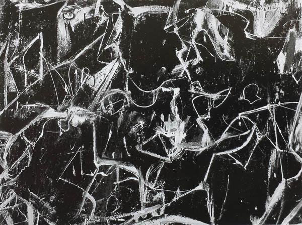 Willem de Kooning Night Square 1949