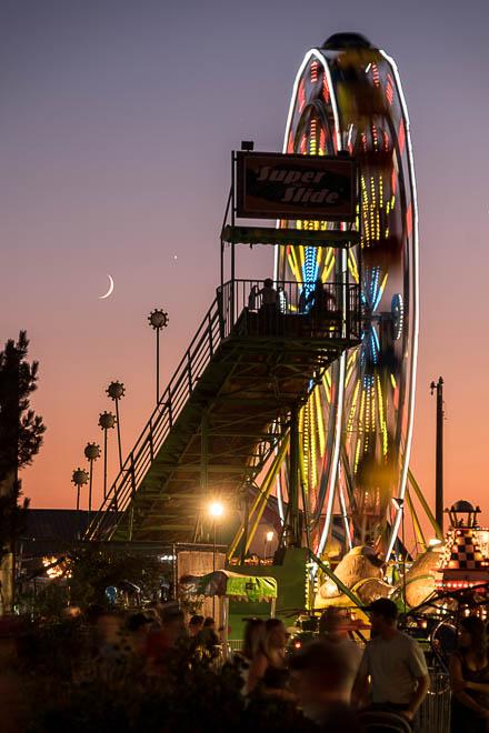 POTD: The Moon and Venus Go to the Fair