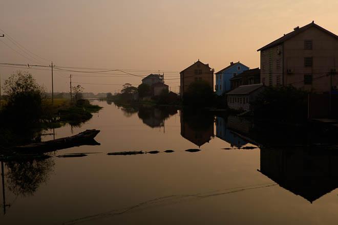 POTD: Sunrise, Xitang Village