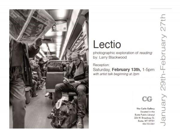 Lectio exhibit Butte