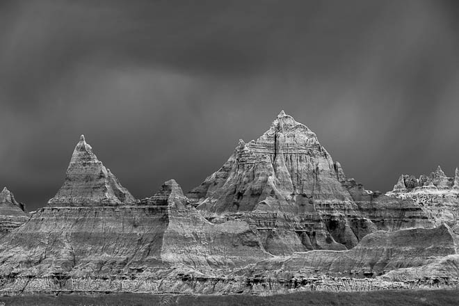 POTD: Storm Over the Badlands
