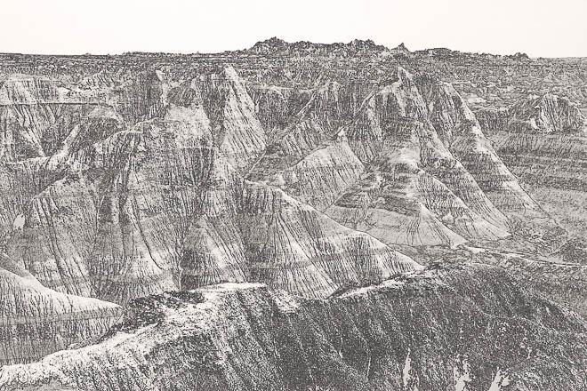 POTD: Badlands View