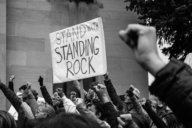 POTD: Stand With Standing Rock