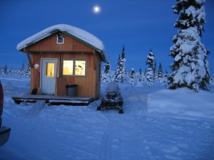 The little cabin Eureka Alaska I was living in when I met Joy! This was taken in the morning 12/29/04 the year before we met. I was living in Chugiak waiting for house to sell.