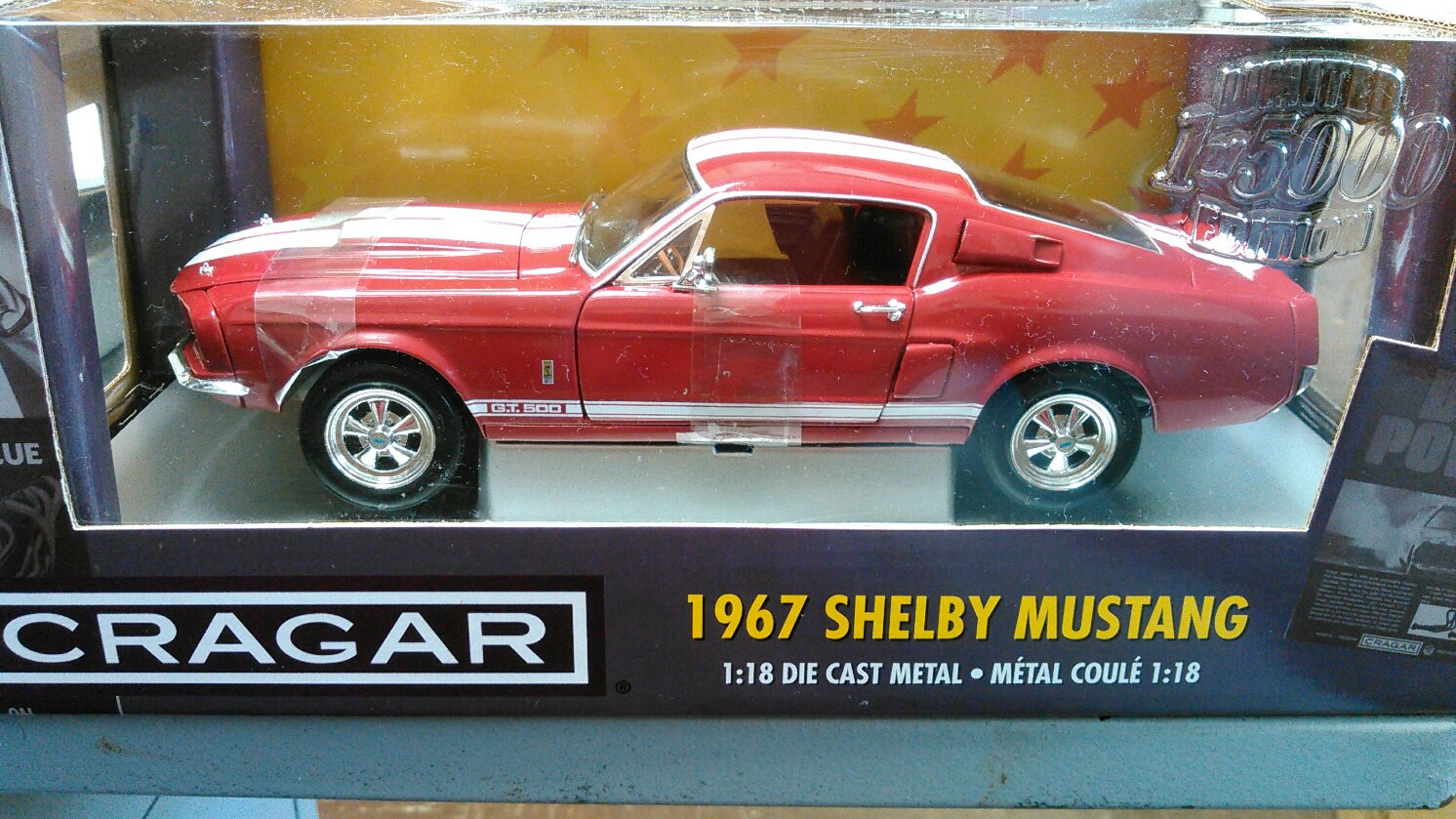 1967 ford shelby mustang cragar
