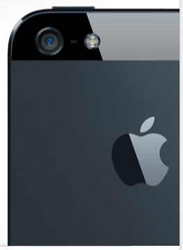 The camera in your phone can be used as a scanner (image: Apple, Inc.)