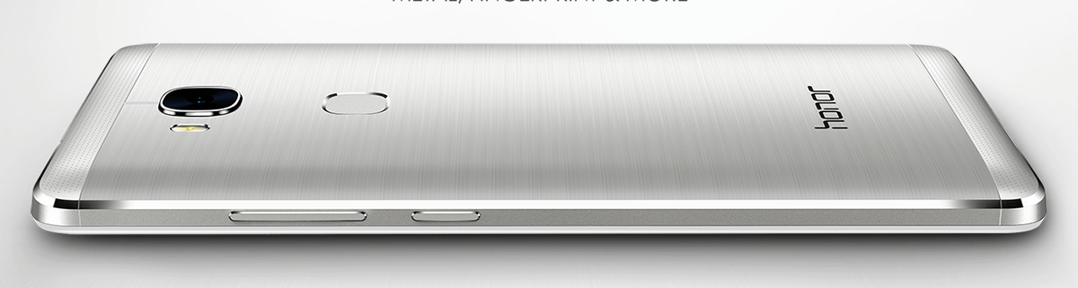 Inexpensive Honor 5X has a metal body and fingerprint reader