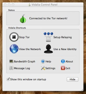tor-control-panel Anonymity on the Web - Tor Browser How To Linux OS X OS X Security Product Reviews