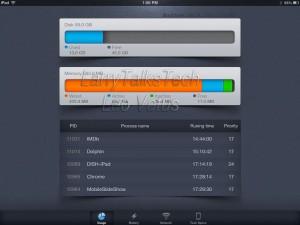 ActMonitor Usage Screen