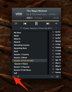 VOX-Playlists-236x300 Vox Music Player for iMac Audio Commentary OS X Product Reviews