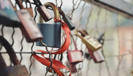 Locks On A Fence | larrytalkstech.com