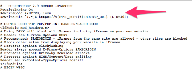 .htaccess edit for SSL | larrytalkstech.com