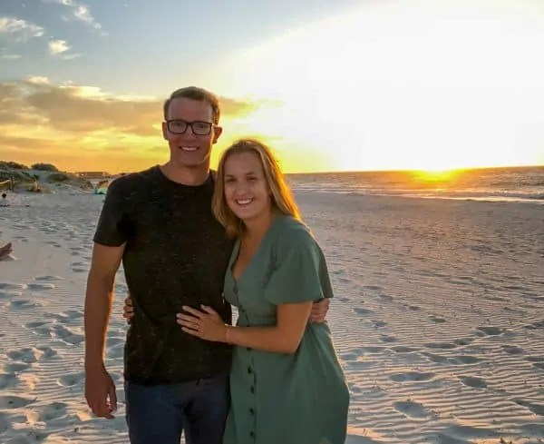 Andrea en Lars Australië 2020
