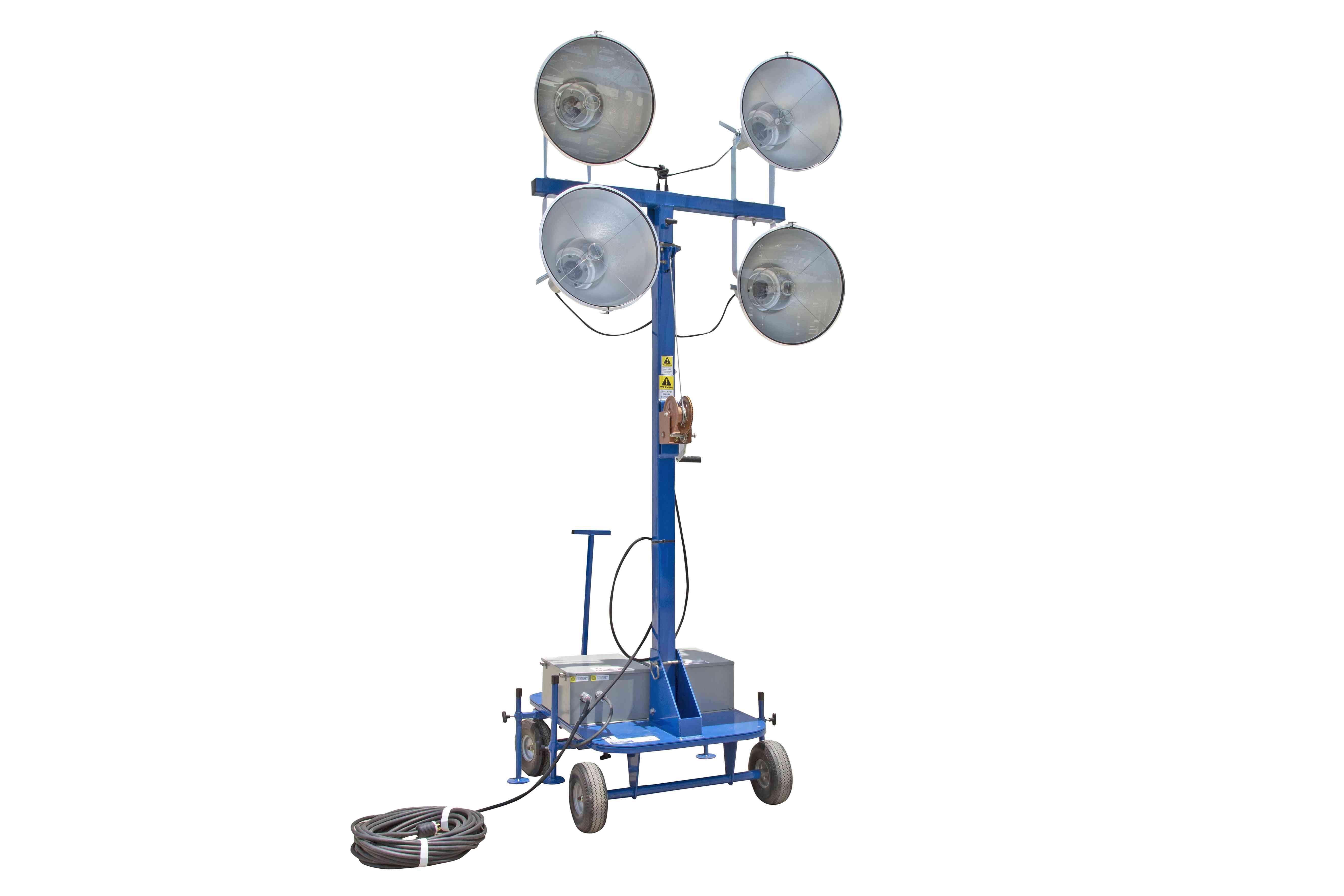 Watt Non Towable Mini Light Tower With Wheels