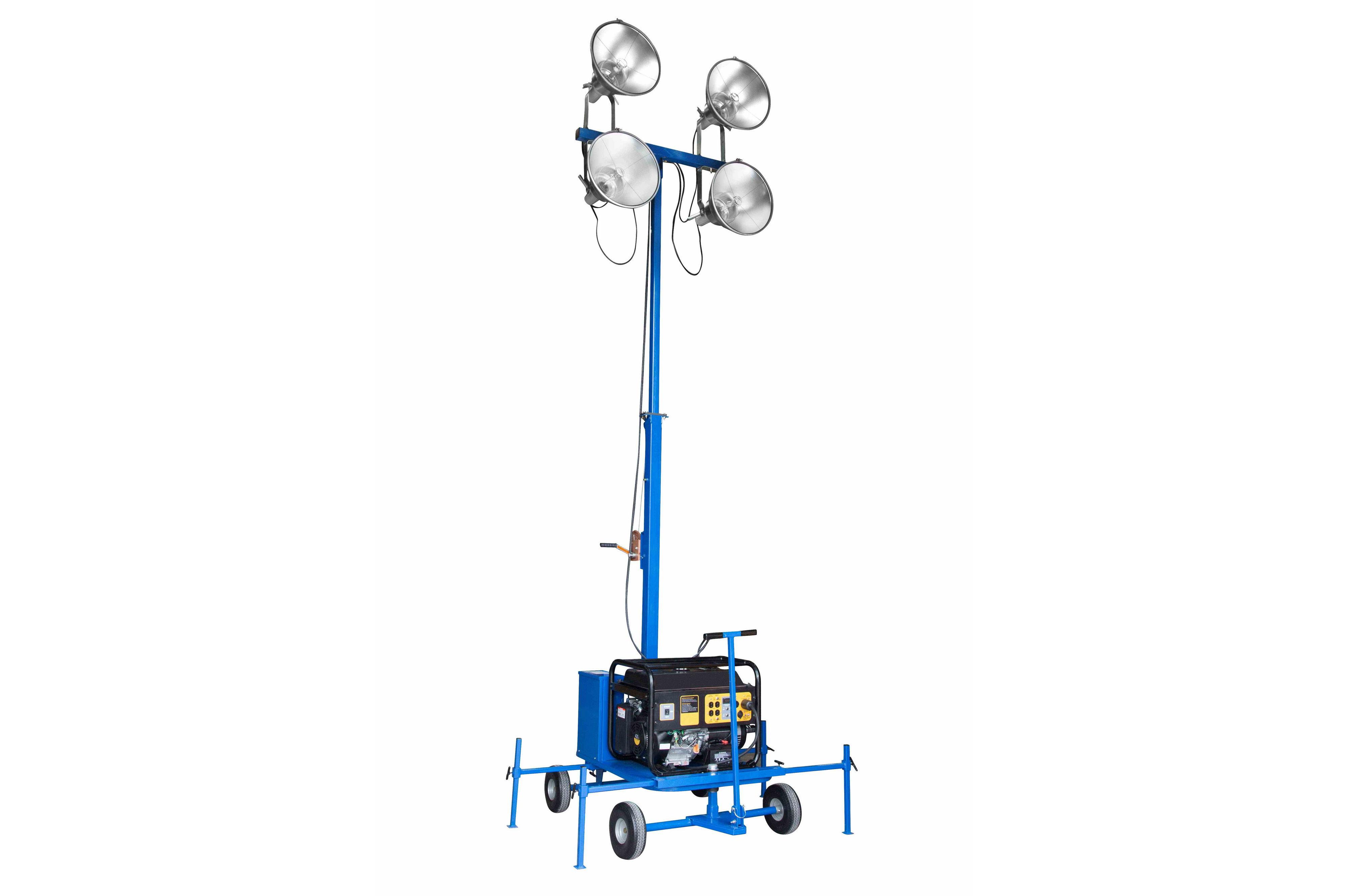 Rental Watt Non Towable Mini Light Tower With