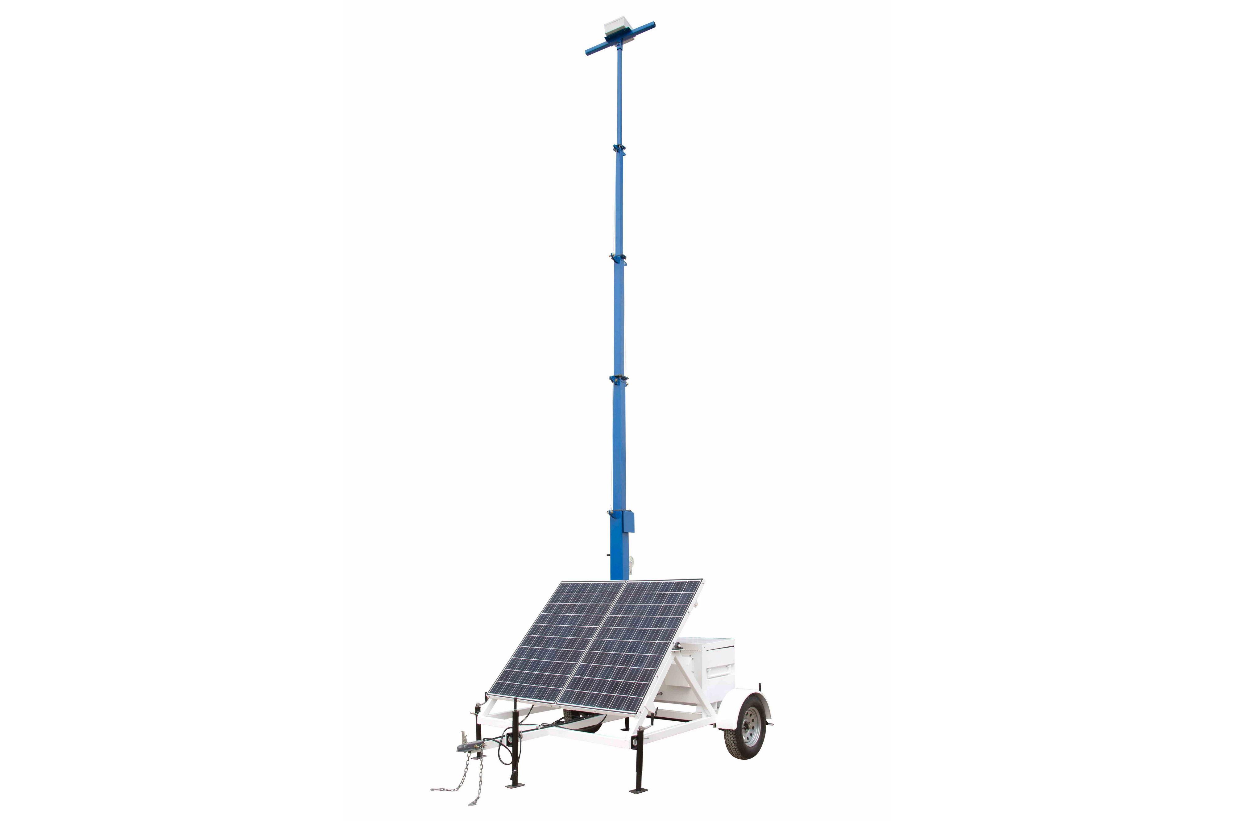 Portable Solar Light Tower