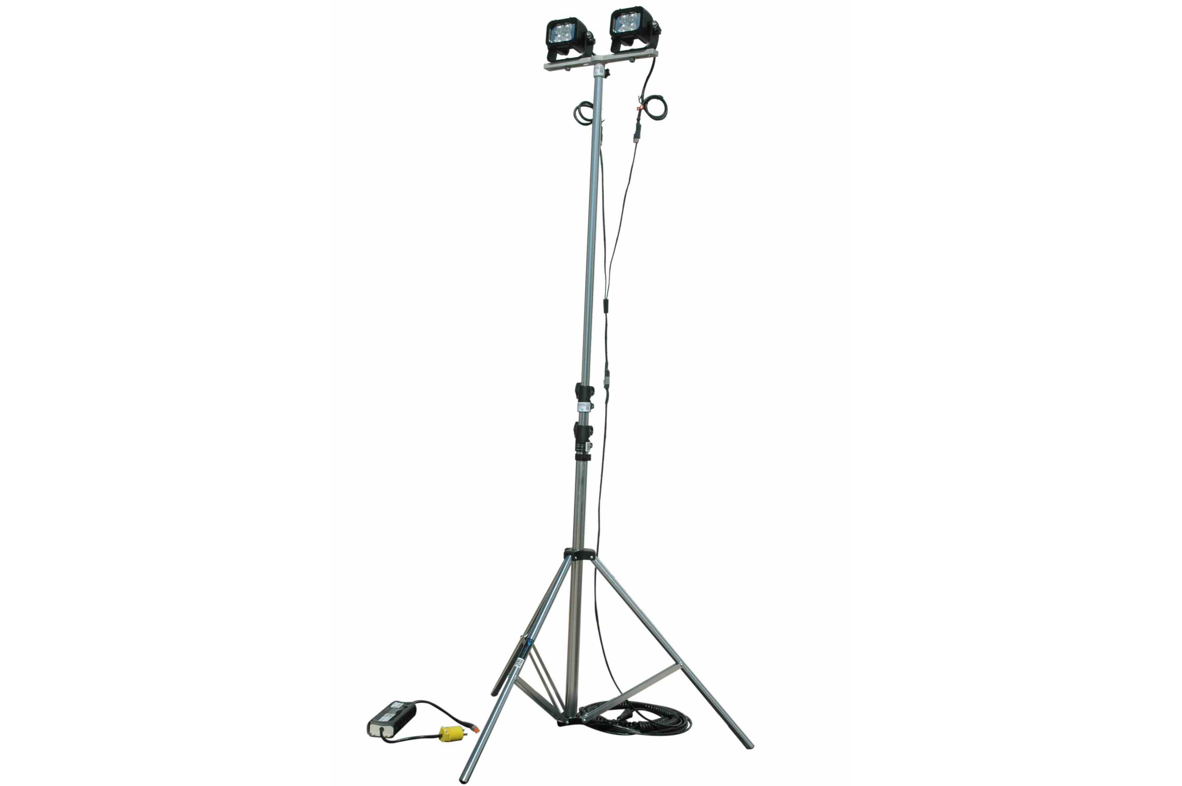 24w Portable Led Telescoping Light Tower