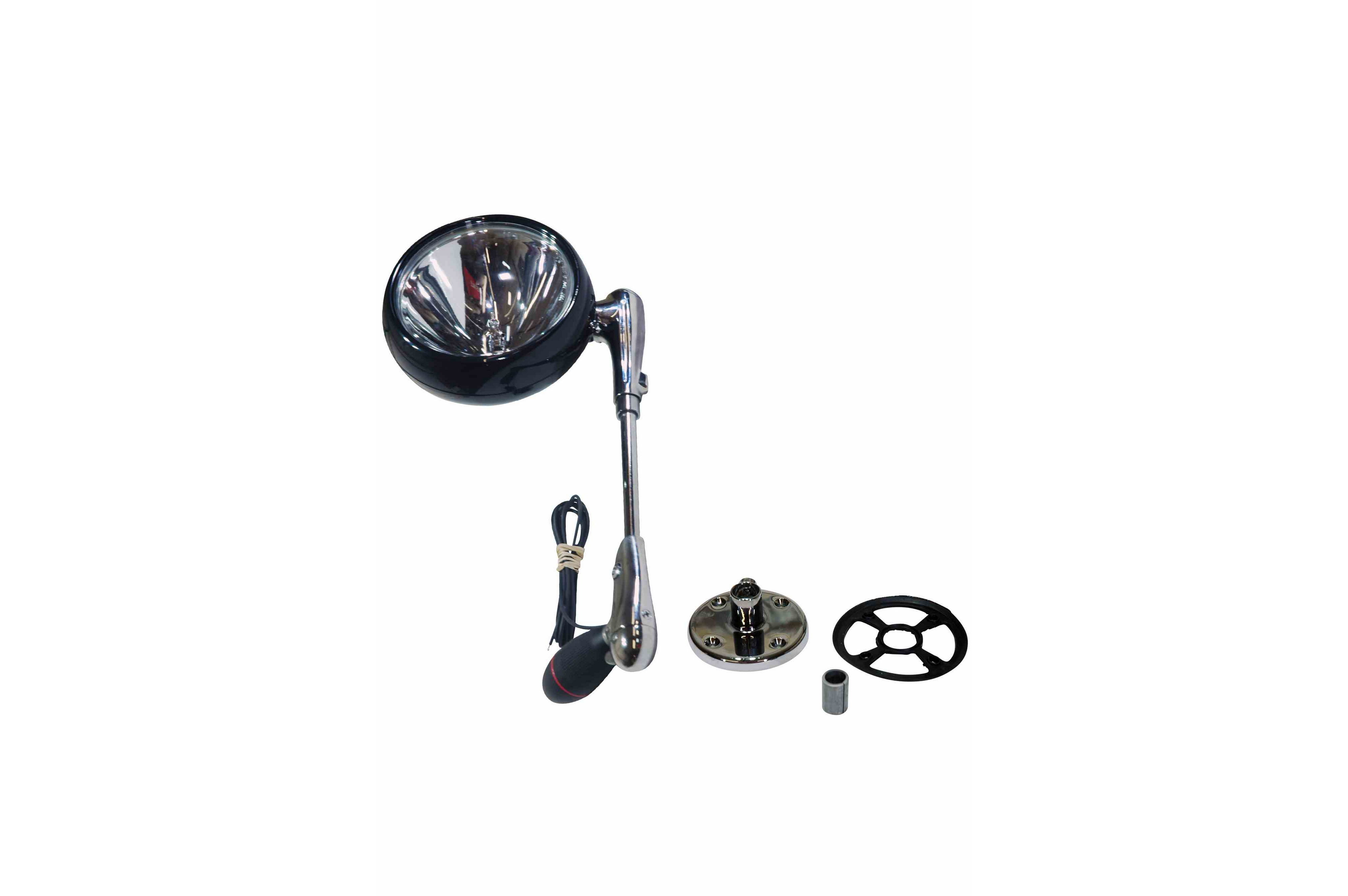 Roof Mount Light With 12 Inch Shaft Rubberized Handle And 100 Watt Lamp