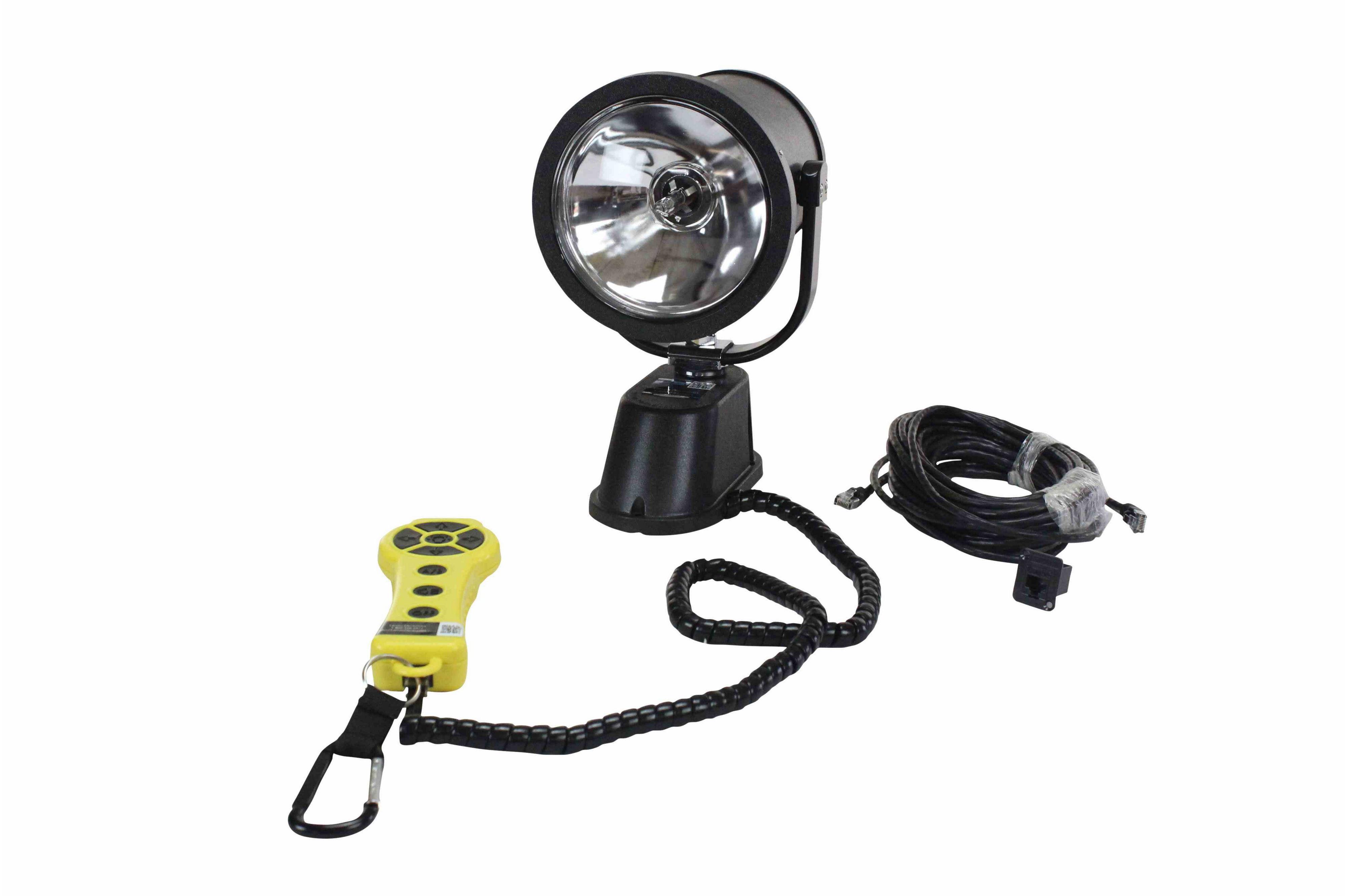 Motorized Remote Control Hid Spotlight