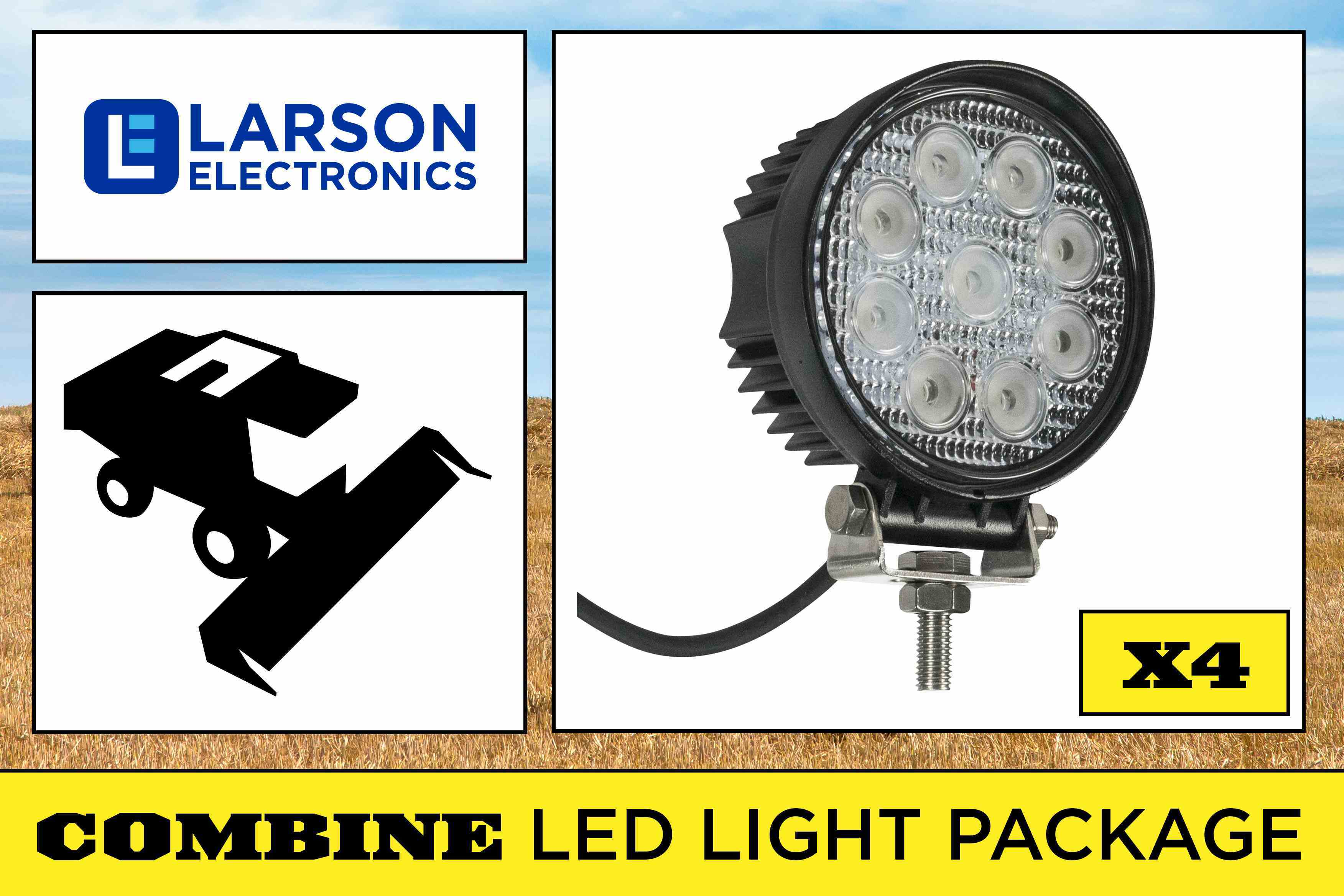 Case Ih Combine Grain Tank Amp Unloader Headlight Led