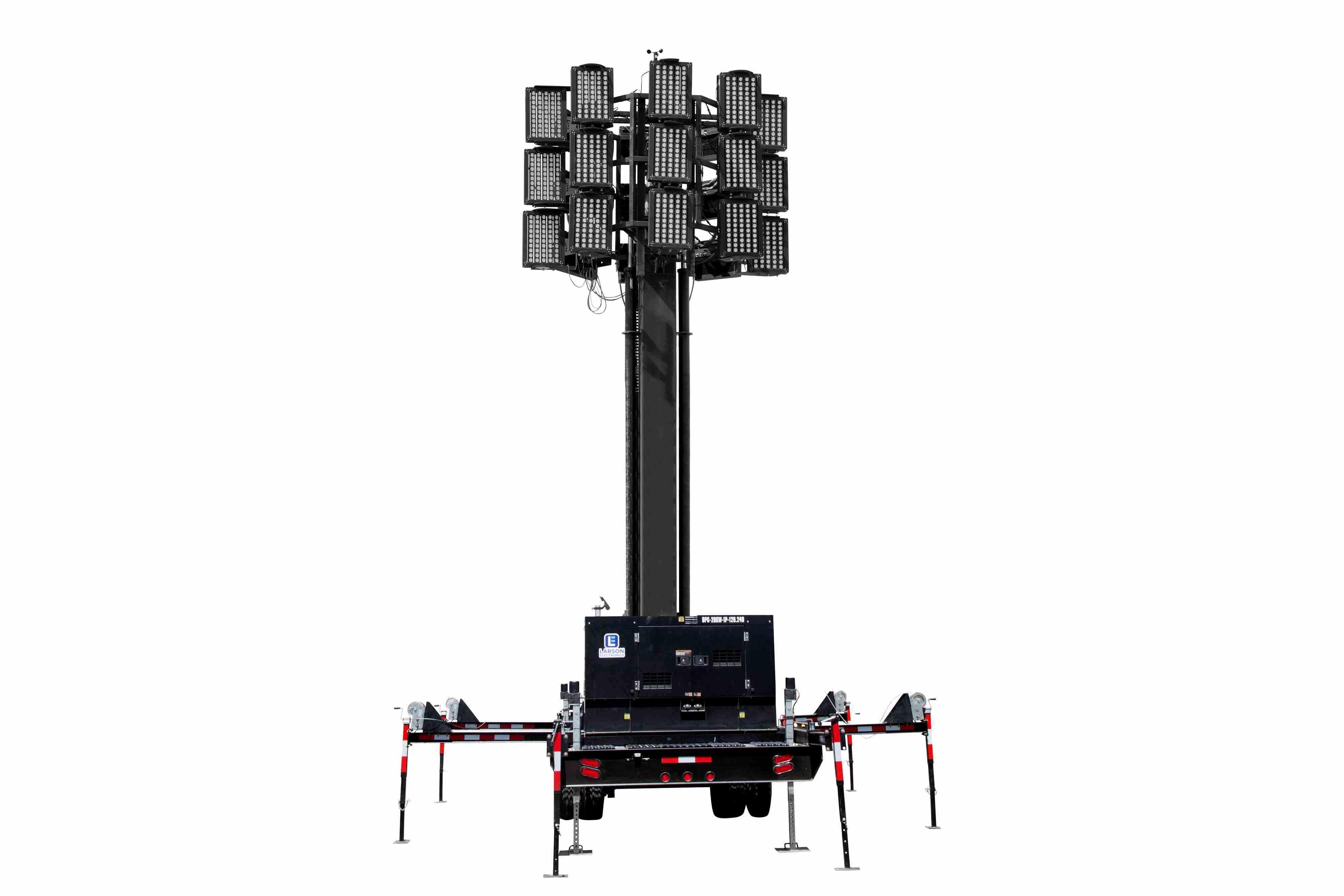77 Hydraulic Megatower Light Plant