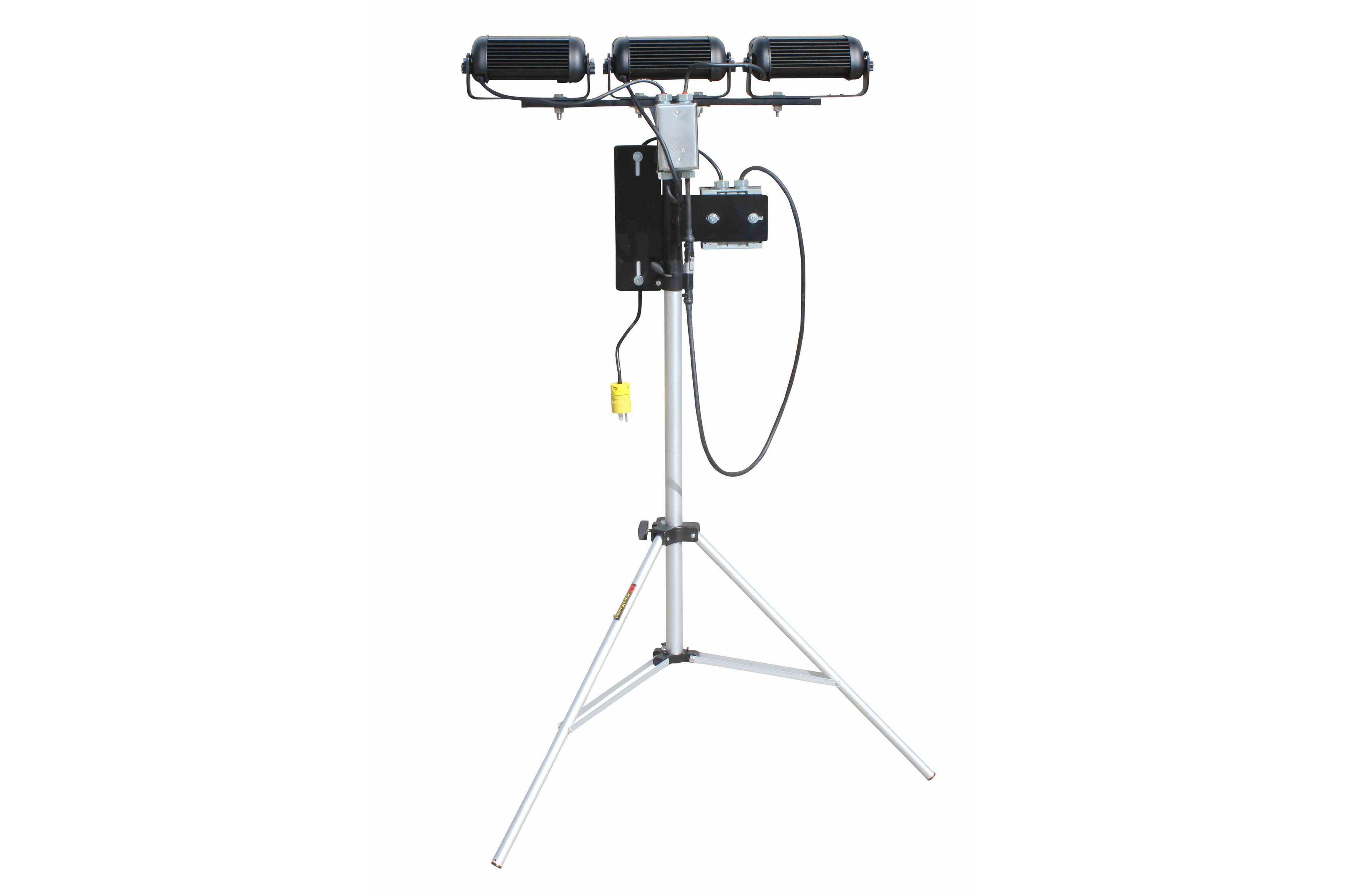 108 Watt Portable Led Telescoping Light Tower Extends 3 5