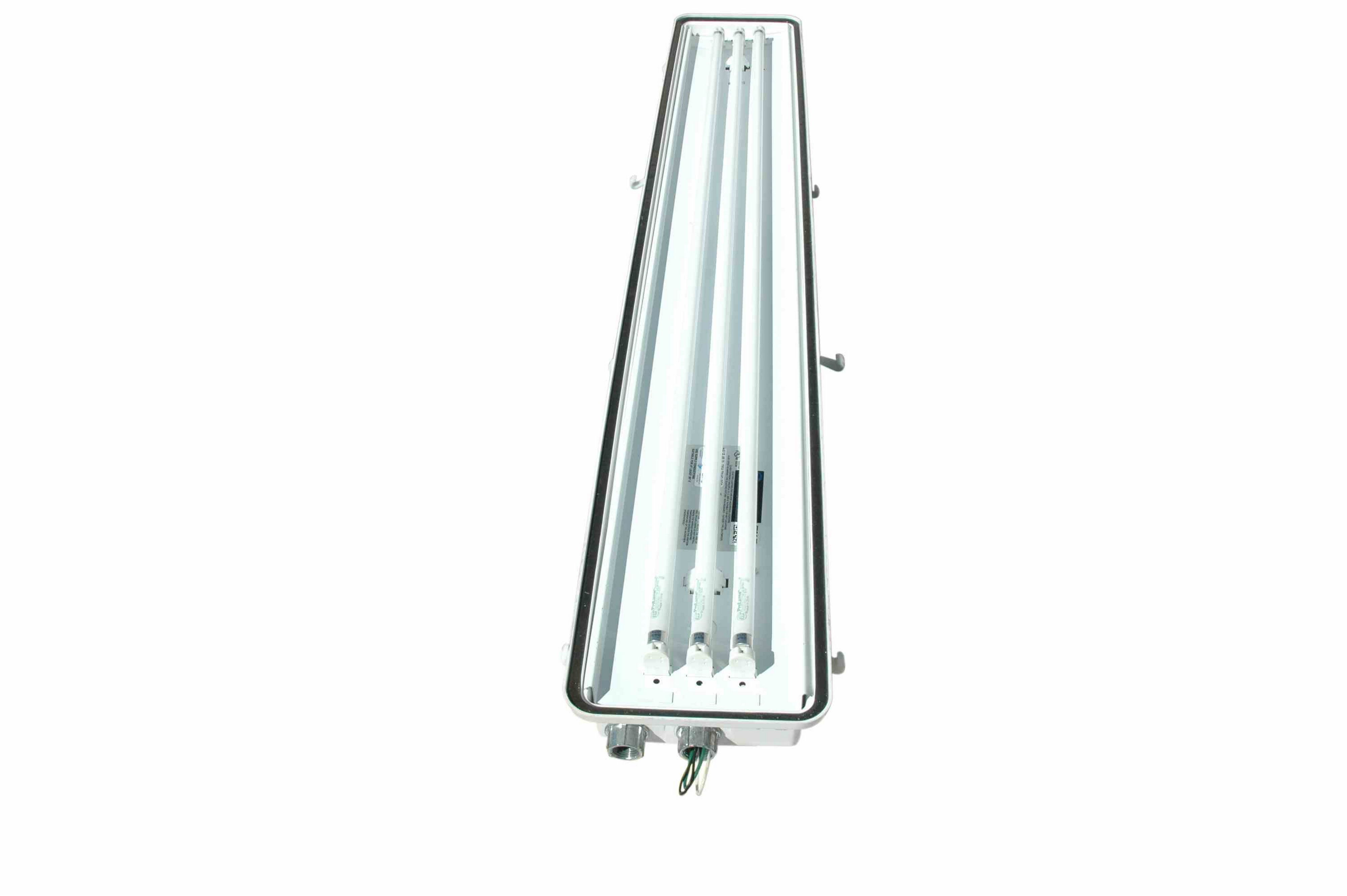 Class 1 Division 2 Emergency Failsafe Fluorescent Light
