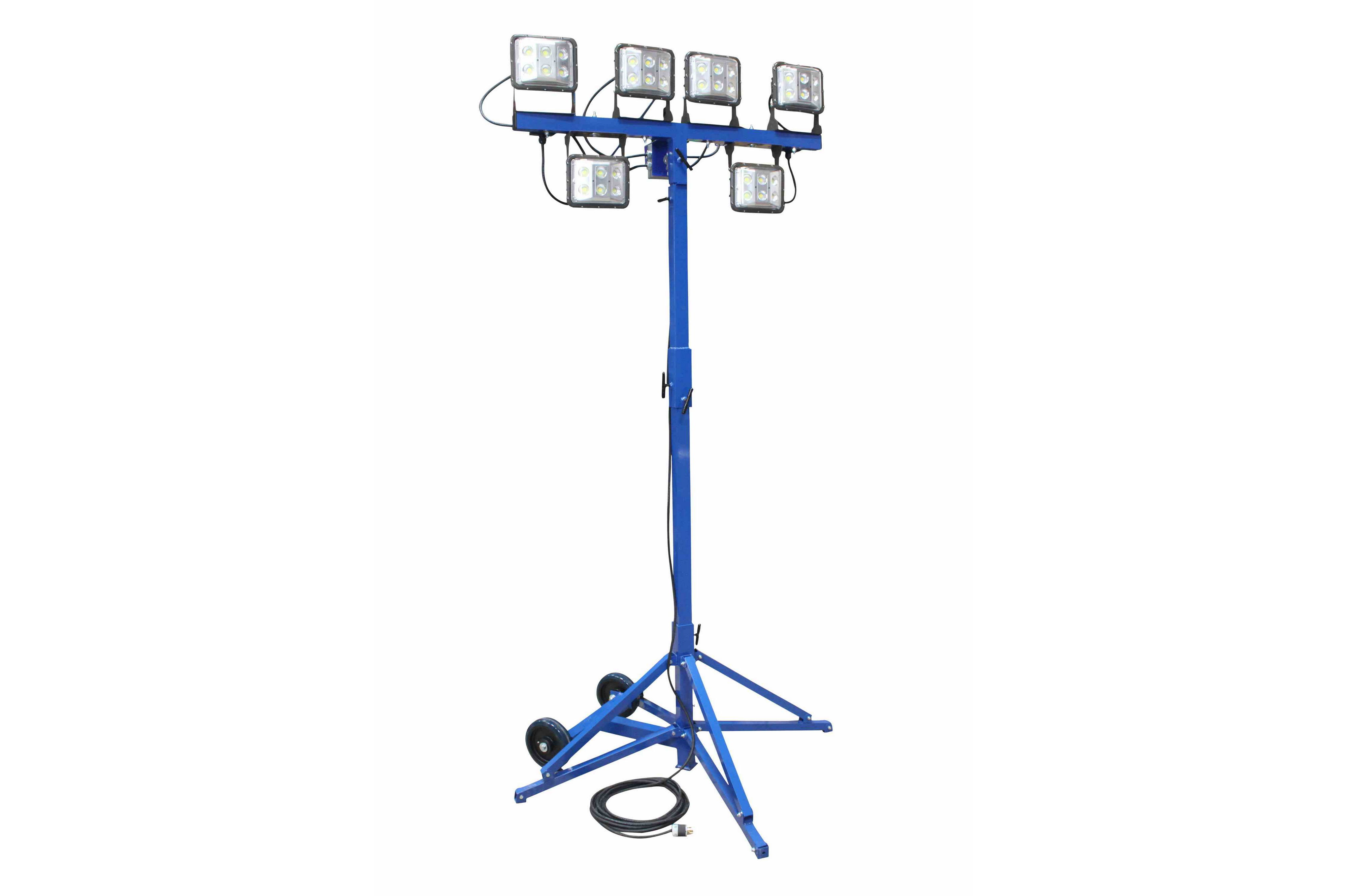 360 Watt Led Work Area Quadpod Light Fixture